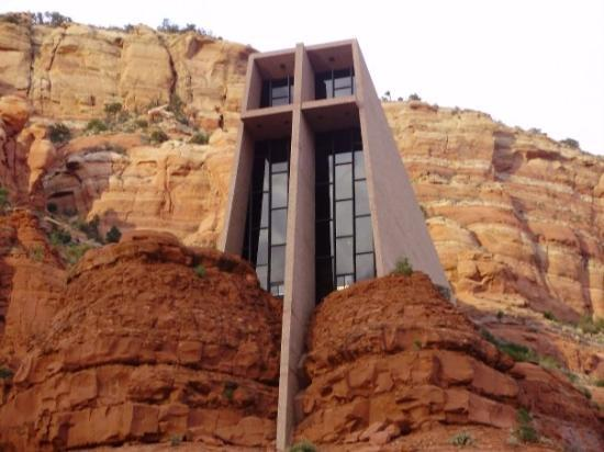 Chapel of the Holy Cross: A Church in the rocks