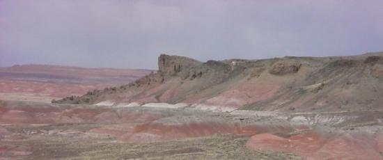 Winslow, AZ: Painted Desert Panorama