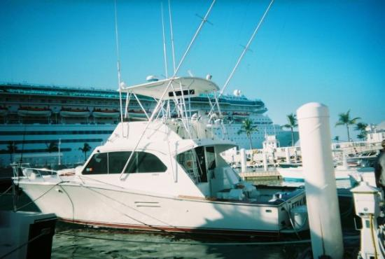 Key Largo, FL: our fishing boat in key west