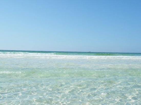 Beach With Water Picture Of Crystal Sands Destin Tripadvisor Fl