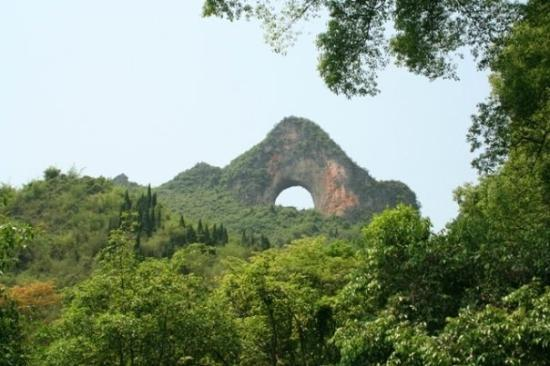 Yongzhou China  City new picture : Yongzhou, China: China Yangshou Moon Hill