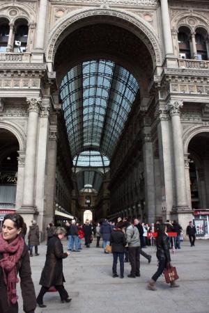 Bilde fra Galleria Vittorio Emanuele II