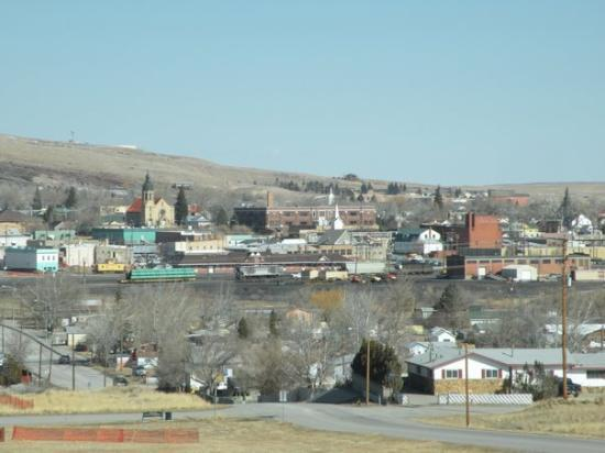 Ролинс, Вайоминг: Downtown Rawlins, WY