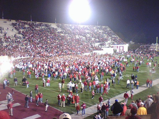 IU bringing home the Oaken Bucket 2007