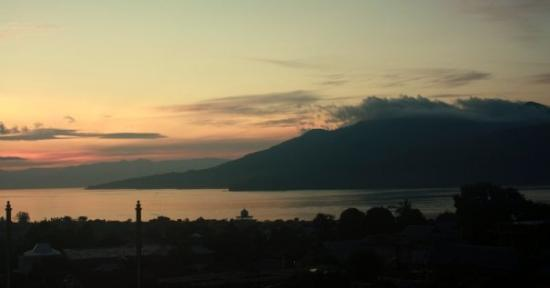 Ternate, Indonesien: Tidore in the morning
