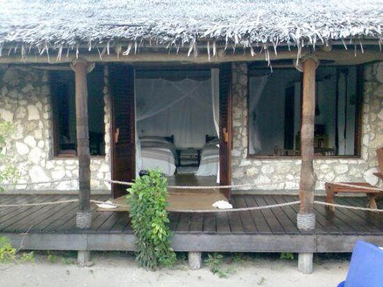 Pemba, Mozambique: private verblyf op strand op mees romantiese eiland in moz