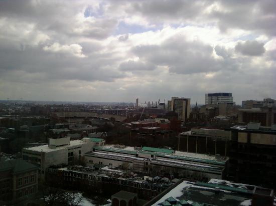 Sheraton Philadelphia University City Hotel: View from the 17th floor