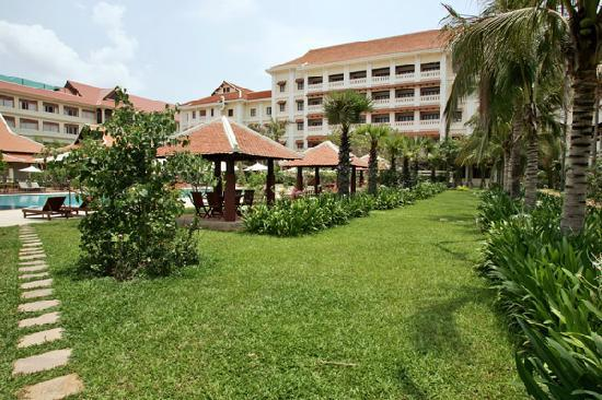Royal Angkor Resort & Spa: Back View