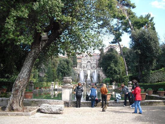 Villa d\'Este - Picture of Victoria Terme Hotel, Tivoli - TripAdvisor