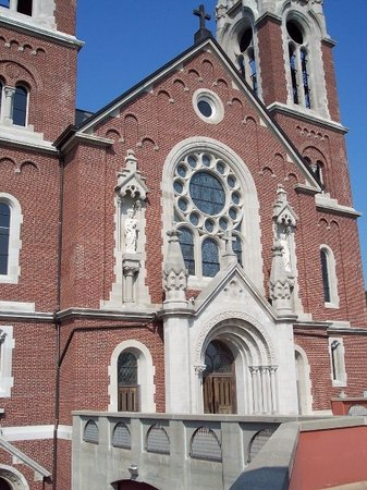 Holy Hill: Here is the official front of the church.