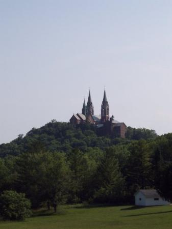 Holy Hill: This is not far from the cabin we rented for the week. It is a monastery.