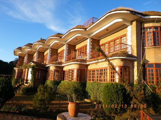 Nagarkot, Nepal: 我所住的旅館