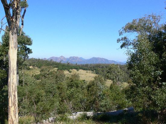 Freycinet Retreat: View from the balcony