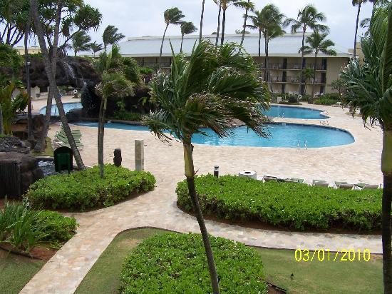 Kauai Beach Resort: 2 of the 4 pools