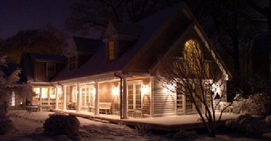 Marblehead, MA: Winter Patio