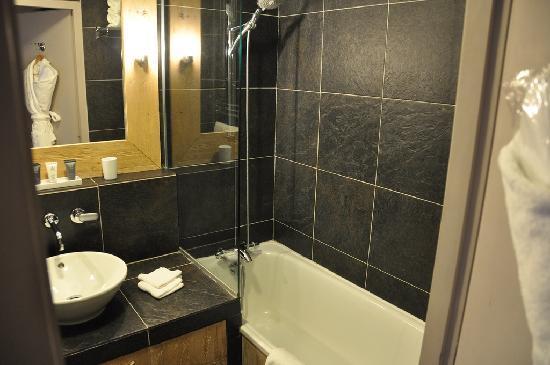 Hotel L'Aigle des Neiges: shower room