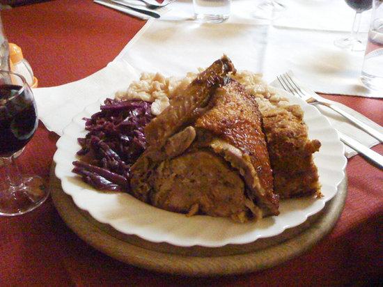 Trnovski zvon : special menu: st.Martin duck