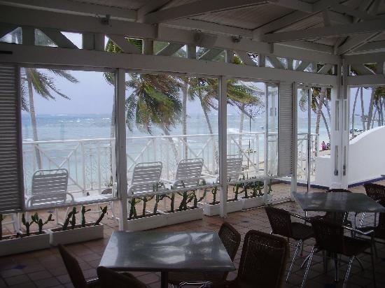 Hotel Casablanca: terrazas frente al mar