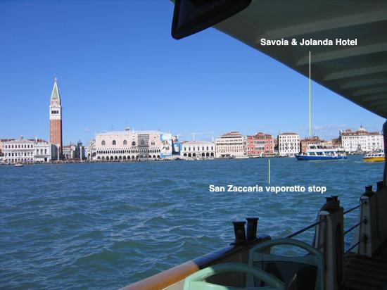 Hotel Savoia & Jolanda: Savoia & Jolanda near San Zaccaria vaporetto stop