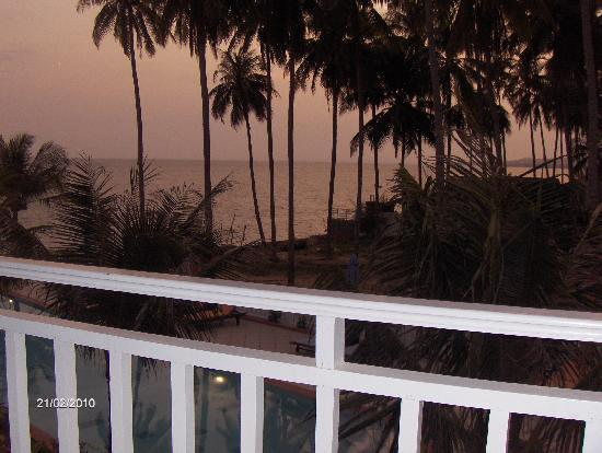 Grace Boutique Resort: Sunset seen from our balcony
