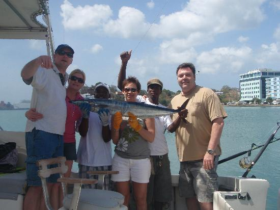 Joe Knows Tours: Our Group Photo w/ our Wahoo