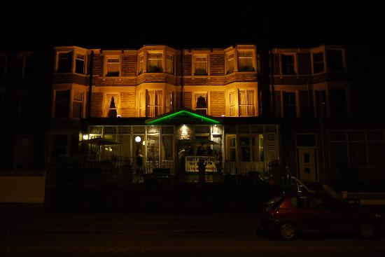 Morecambe, UK: Eidsforth front at night