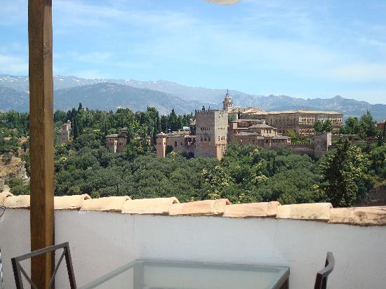 Restaurante Estrellas de San Nicolas: la terrasse