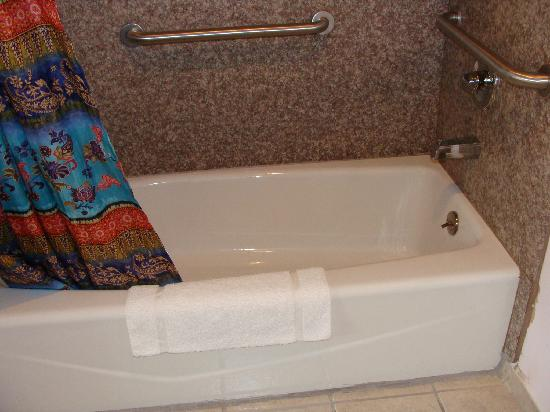 Colonial Inn: Tub