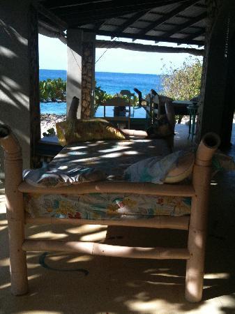 جاكيز أون ذا ريف: One of the relaxation beds