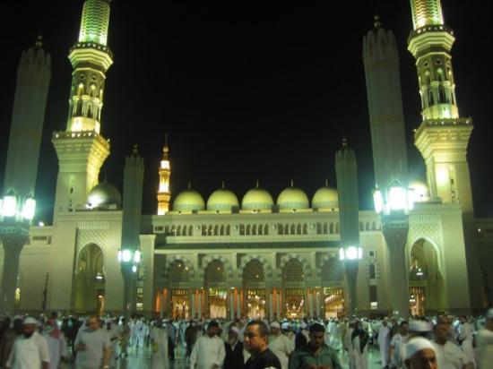 Medina, Arabie Saoudite : Masjid-e-Nabwe (Prophet's Mosque)