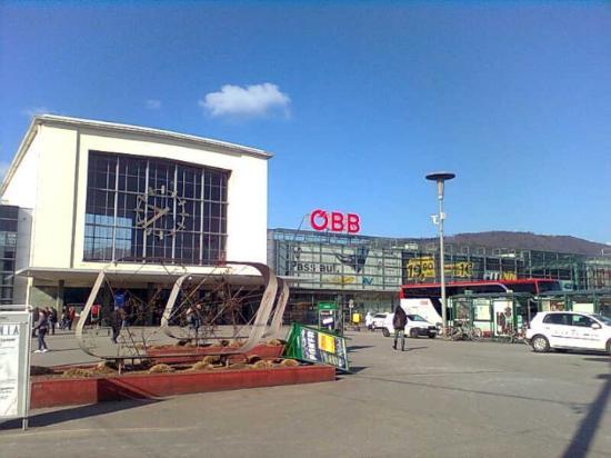 Bahnhof Graz... nicht ganz so romantisch...