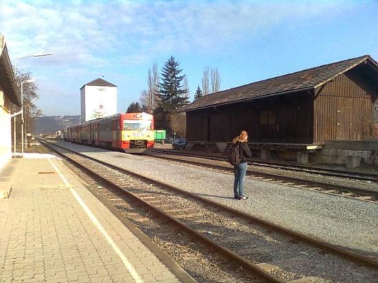 Graz, Østerrike: Bahnhof Krottendorf - voll romantisch ;)