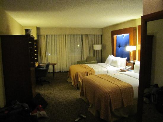 Deerfield Beach, Floride : Our room