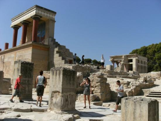 Creta, Grecia: Knossos