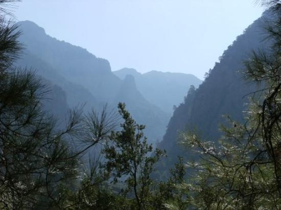 Crete, Greece: 18km hike through Samaria Gorge