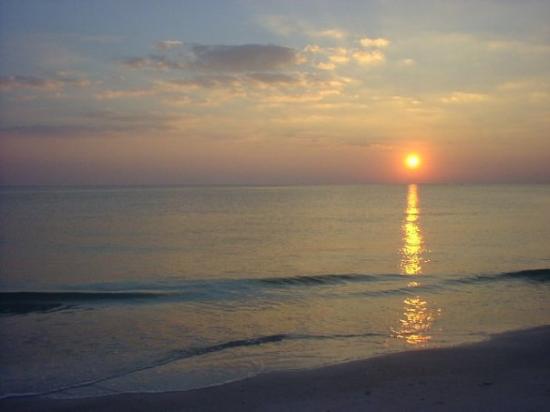 Lido Beach: One of the many beautiful  Longboat Key Sunsets