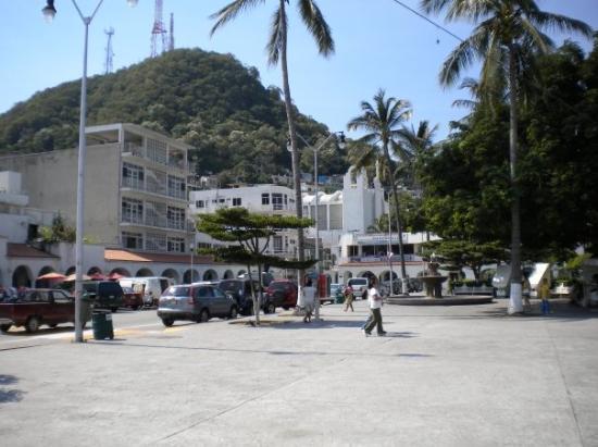 Manzanillo buildings.