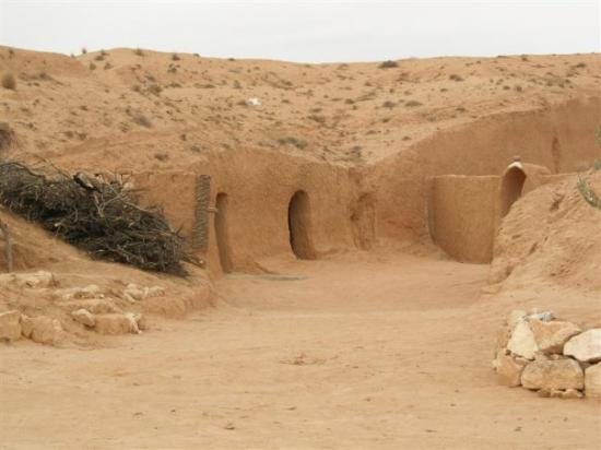 Matmata, Tunisia: on se croirait dans Star Wars!!