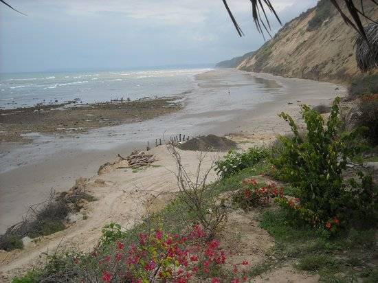 CasaGrande Oceanfront Boutique Hotel: Miles of secluded, beautiful and romantic beaches.