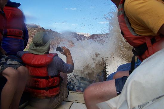 Arizona Raft Adventures: WHEE!