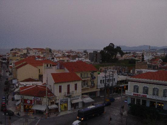 Arkadi Hotel: View from the balcony