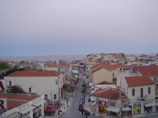 Arkadi Hotel: View from the balcony