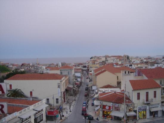 أركادي هوتل: View from the balcony