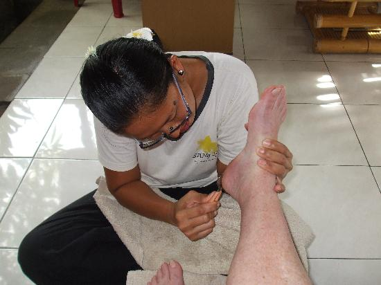Ubud massage hand job