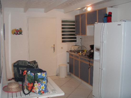 Residence de la Plage: Kitchen