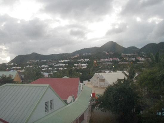 Residence de la Plage: view from the loft window