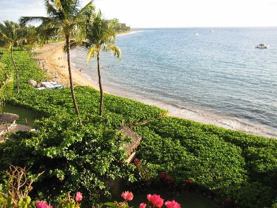 View from my second Oceanfront room, Sheraton Maui, definitely oceanfront!
