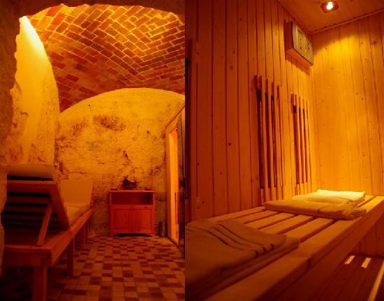 sauna villa clodia