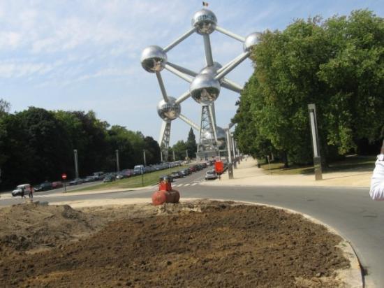 Bilde fra Atomium