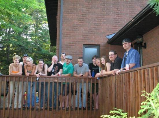 Barrie, Kanada: All of the cousins on Mom's side